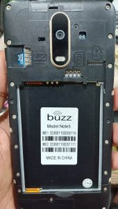 Buzz Note 5 Flash File Without Password