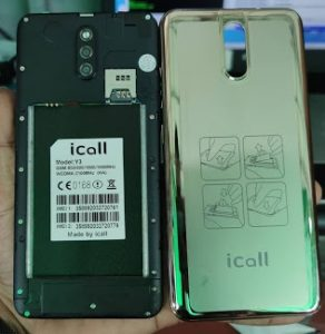 iCall Y3 Firmware Flash File