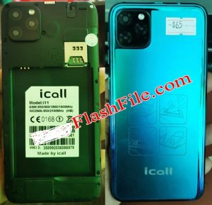 iCall i11 Firmware Flash File