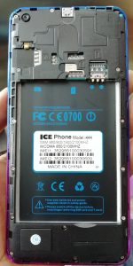 Ice Phone i1444 Without Password