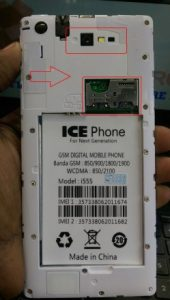 Ice Phone i555 2nd Version Firmware