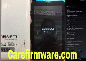 Connect A7 3G-T Flash File