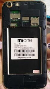 Mione R1 Flash File Without Password