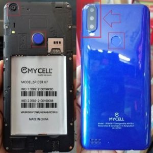 Mycell Spider V7 Flash File Firmware