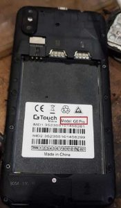 Gtouch G6 Pro Flash File